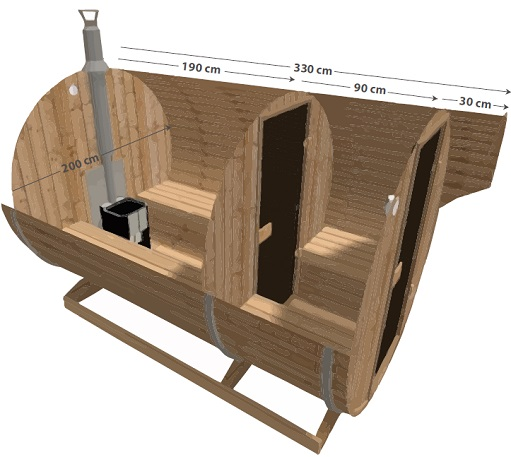 barrel sauna plans