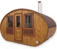 mobile sauna barrel sauna wooden product